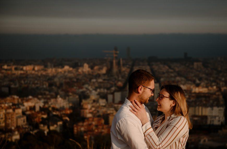 Sesja narzeczeńska w Barcelonie Hiszpania